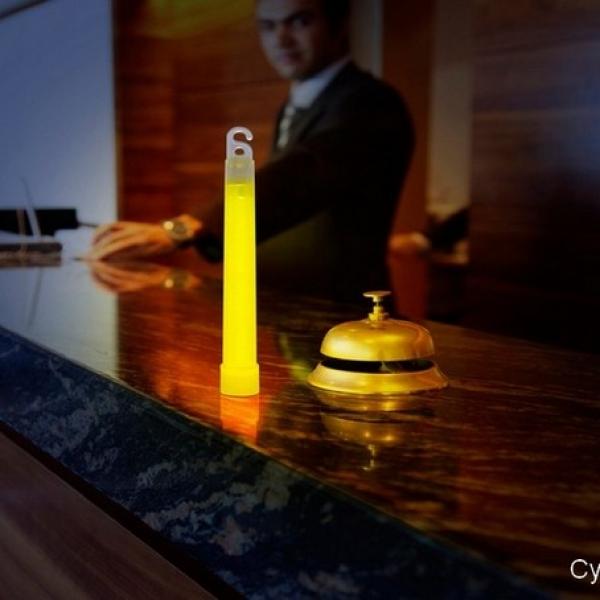 Snaplight 15 cm cyalume proposé par prolutech pour un éclairage autonome d