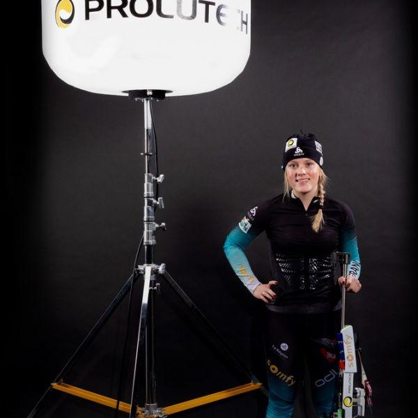 Prolutech sponsor officiel de Sophie CHAUVEAU