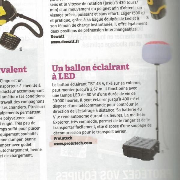 Sirocco 2S TBT 48v LED Secours